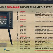 100 jaar Mediastad ook in MCO Hilversum