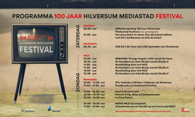 100 jaar Mediastad in het MCO