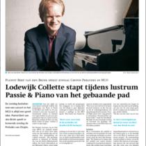 Bert van den Brink in de Gooi- en Eembode