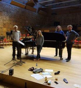 MCO Studio 5, opname Barbara Hanigan - Reinbert de Leeuw