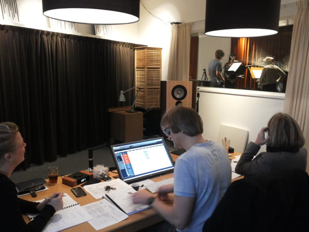 MCO Studio Frans de Rond, hoorspel opname